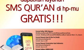 Peluncuran Program Layanan SMS Qur'an Gratis