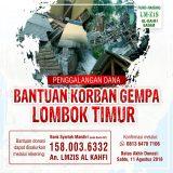 Penggalangan Dana Bantuan Korban Gempa Lombok