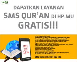 Program Baru dari SMS Center LMZIS Alkahfi Batam