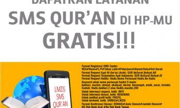 Program Baru dari SMS Center LMZIS Alkahfi Batam